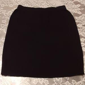 St John collection black skirt sz 10